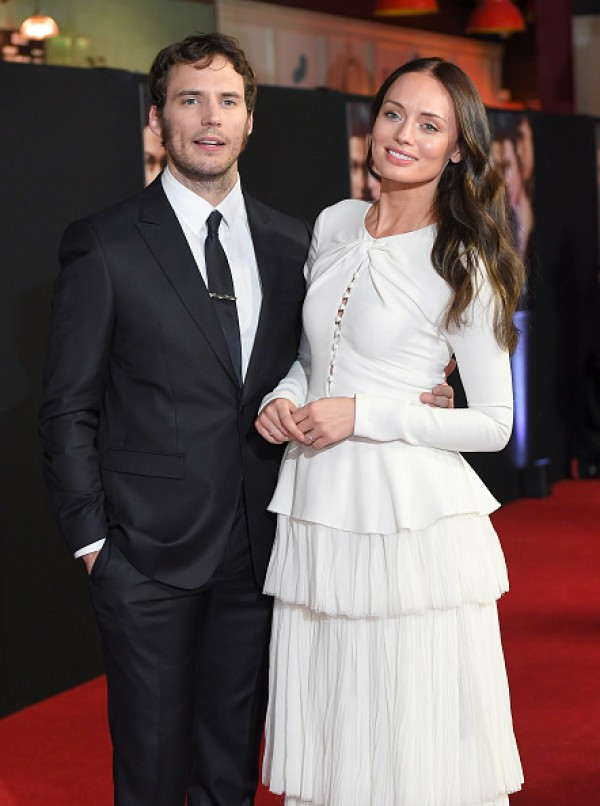 Sam Claflin and his wife Laura Haddock remain inseparable ...