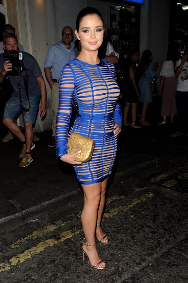 Demi Rose Put Her Hourglass Figure On Display In A See