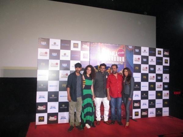 Tanu Weds Manu Returns Trailer Launch,Tanu Weds Manu Returns,bollywood movie Tanu Weds Manu Returns,Kangna Ranaut & R Madhavan,Kangna Ranaut,Madhavan