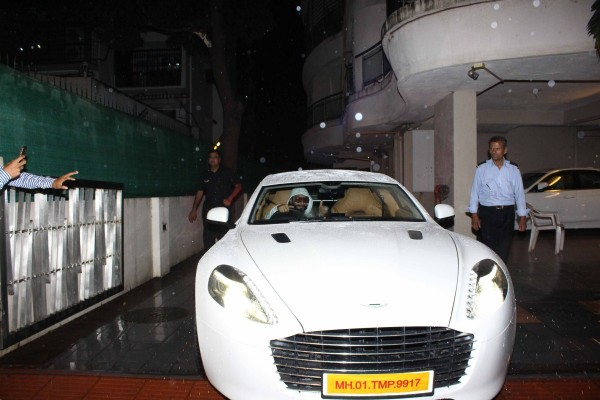 Ranveer Singh With His New Aston Martin Photos Images