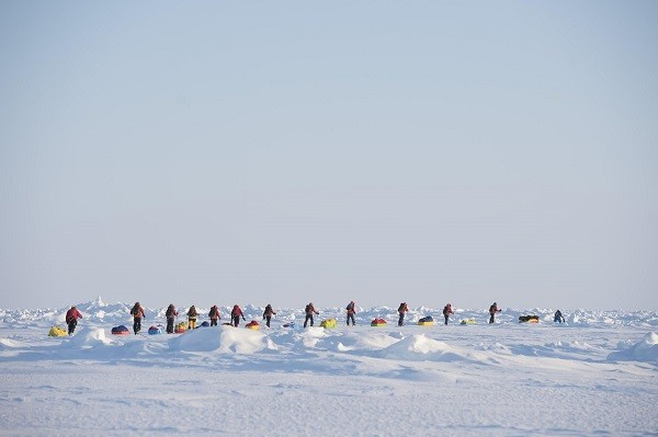 Greenpeace activists set out for North Pole expedition