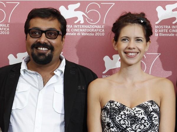 Anurag Kashyap and Kalki Koechlin in happier times