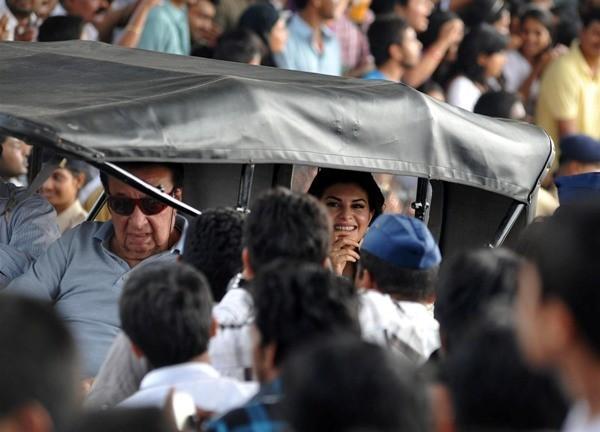 Jacqueline Fernandez at Mumbai's Republic Day parade