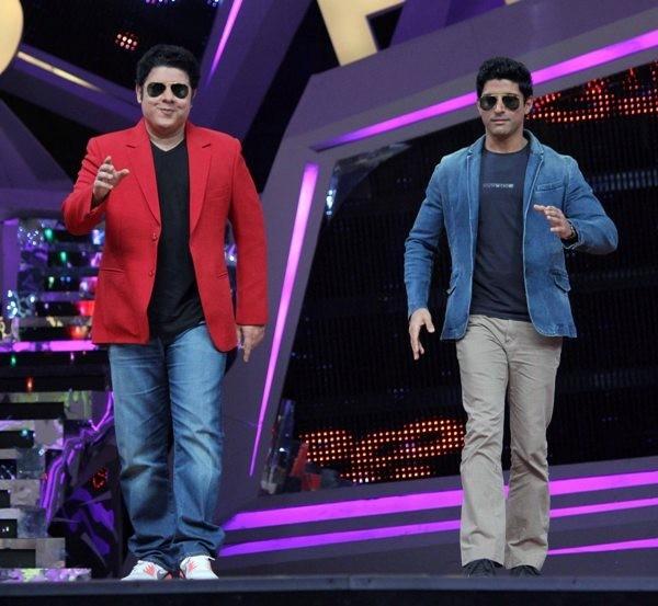 Farhan Akhtar & Sajid Khan on Nach Baliye Grand Finale