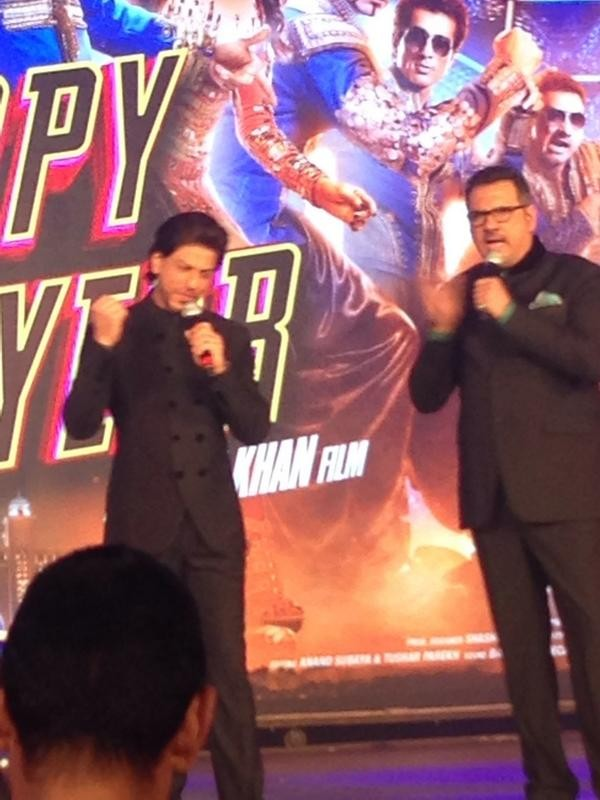 New Happy New Year Trailer Launch