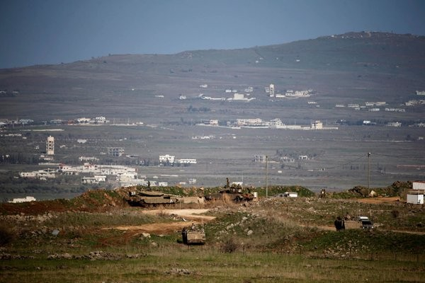 The Golan Heights: 43 UN peacekeepers from Fiji are being detained there.