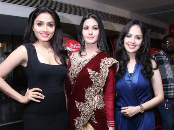 Aishwarya Devan and Amyra Dastur at