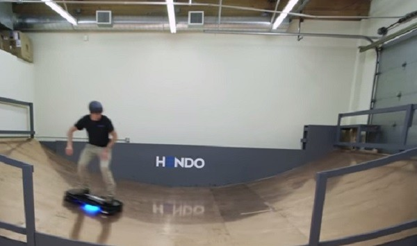 An American startup is believed to have finally created a working model of a flying hoverboard.