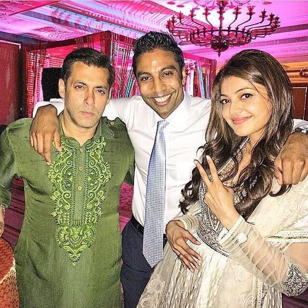 Salman Khan with Kajal Aggarwal