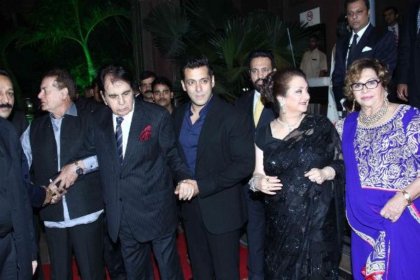 Salman Khan Welcomes Dilip Kumar