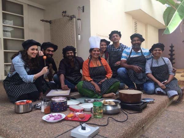Baahubali team SS Rajamouli, Rana Daggubati, Tamanna are set to perform a skit at Memu Saitam stage