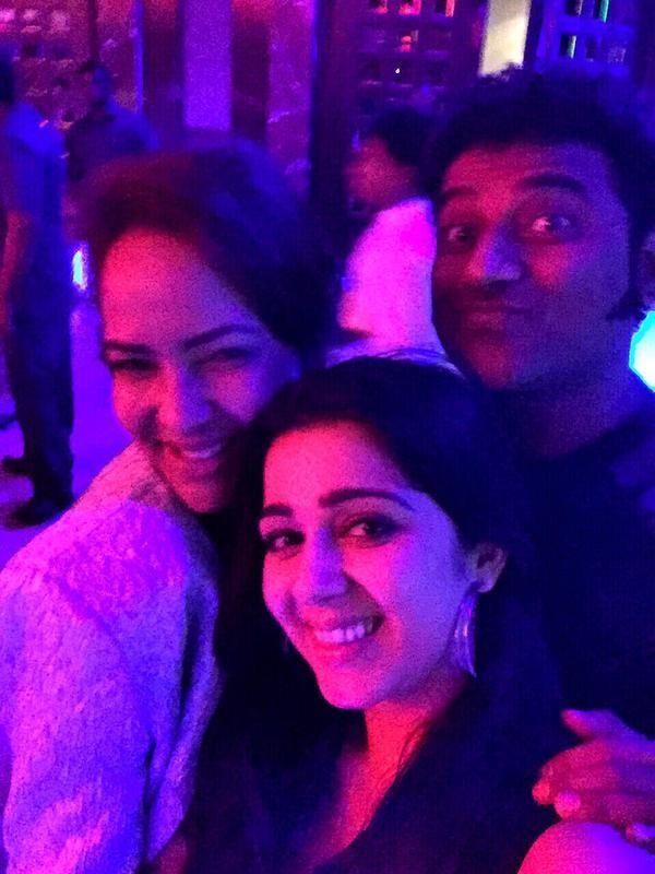 Lakshmi Manchu, Charmy & DSP