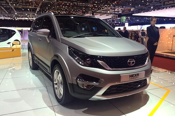 2015 Geneva Motor Show: Tata Unveils Hexa SUV Concept
