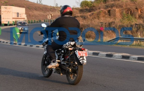 Bajaj Working on Pulsar 150 AS? Spotted Testing in India [PHOTOS]