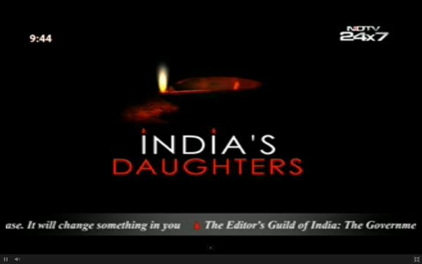 NDTV's Silent Protest