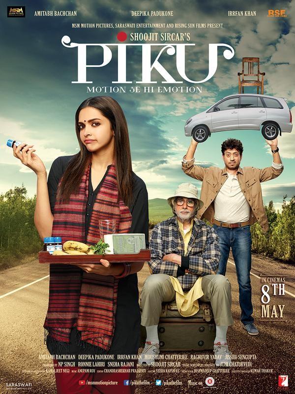 'Piku' Poster Revealed