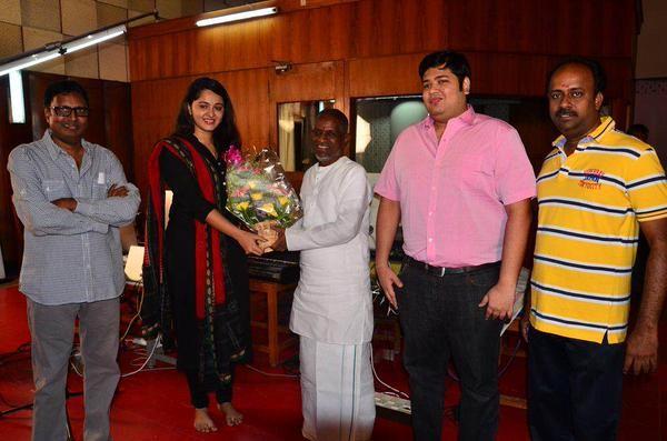 Anushka Shetty Meets Ilyaraja