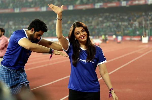 Rare Picture of Aishwarya Rai and Abhishek Bachchan
