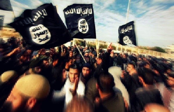 Isis in Gaza supporters