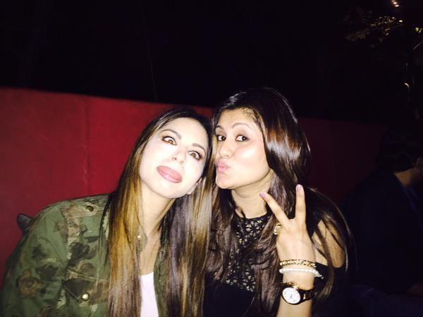 Rare Picture of Sunny Leone