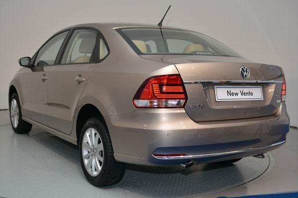 2015 Volkswagen Vento Facelift