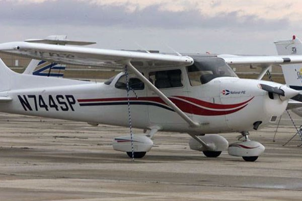 A file image of a Cessana aircraft.