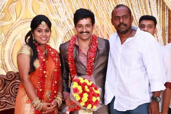 Pasupathi at Vidharth-Gayathri Devi Wedding Reception.