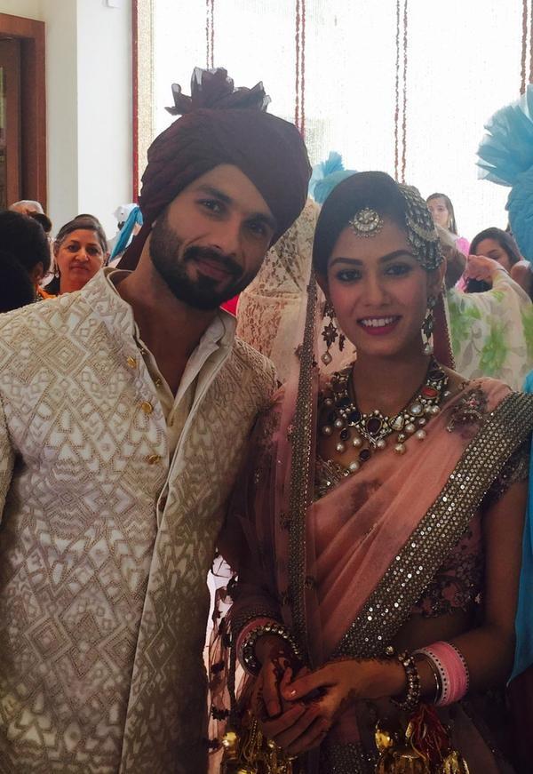 Shahid Kapoor - Mira Rajput Wedding