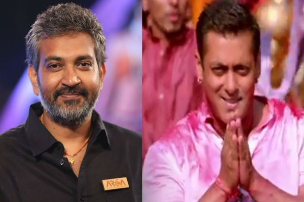 SS Rajamouli and Salman Khan