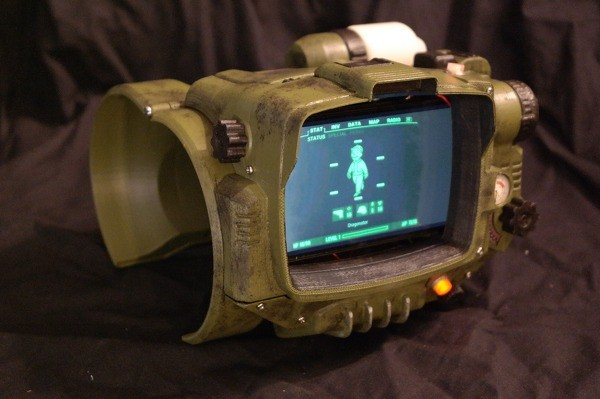 Fan-made, 3D Printed Pip-Boy
