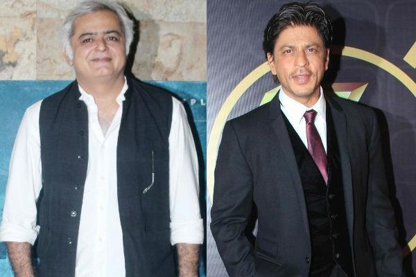 Shah Rukh Khan and Hansal Mehta