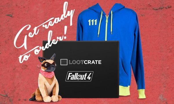 Limited Edition Fallout 4 crate