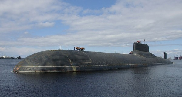 Dmitri Donskoy (TK-208), Nato-code name Typhoon