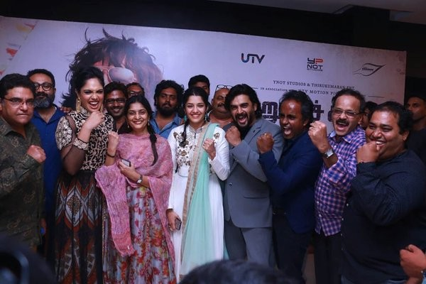 Celebs at Irudhi Suttru Special Screening