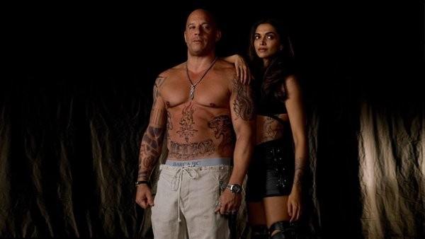 Vin Diesel and Deepika Padukone in xXx: The Return of Xander Cage