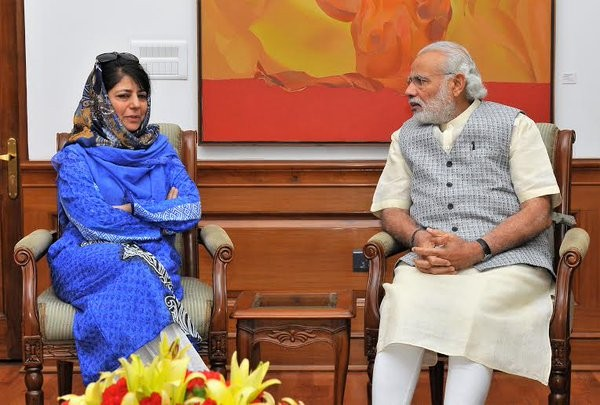 Mehbooba Mufti meet