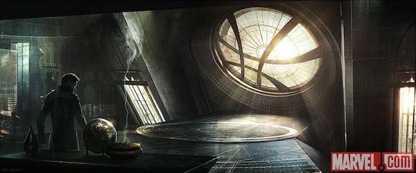 Doctor Strange's Sanctum Sanctorum concept art - 2