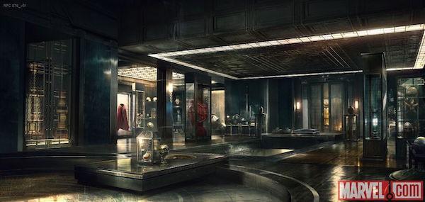 Doctor Strange's Sanctum Sanctorum concept art - 1