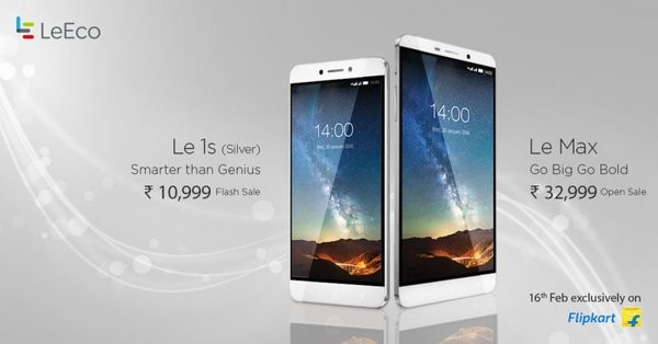 LeEco Le Max open sale commences Feb. 16: New silver colour added for Le 1s
