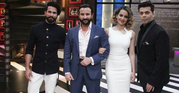 koffee with karan, rangoon