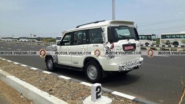 2017 Mahindra Scorpio, 2017 Mahindra Scorpio India, 2017 Mahindra Scorpio facelift
