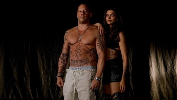 Vin Diesel and Deepika Padukone in xXx: The Return of Xander Cage