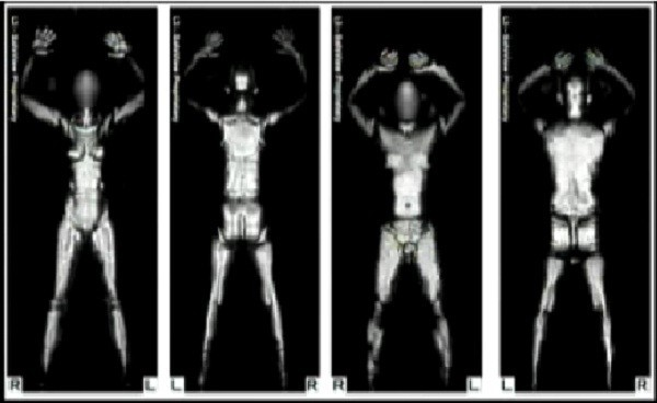 TSA take full body scans in the name of security/Videograb