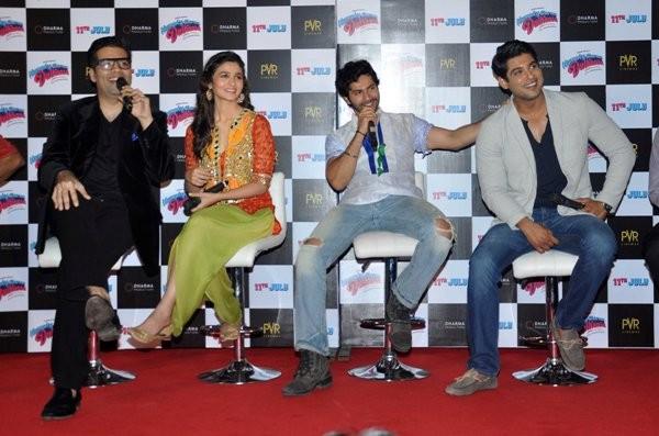 Trailer launch of upcoming film 'Humpy Sharma Ki Dulhania'