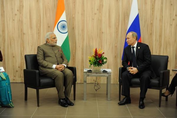 Modi Putin meet
