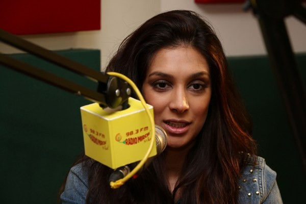 Preeti Desai at Radio Mirchi.