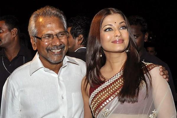 Mani Ratnam with Aishwarya Rai