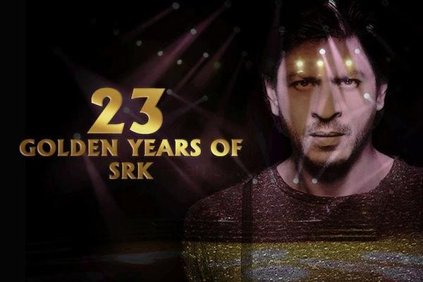Shah Rukh Khan: 23 Years! Thanks for the Love!