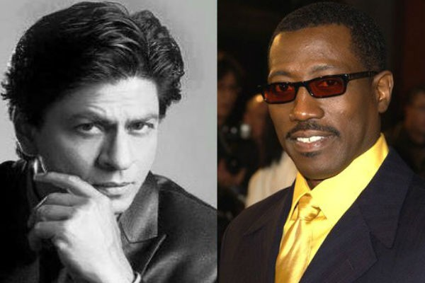 Shah Rukh Khan and Wesley Snipes