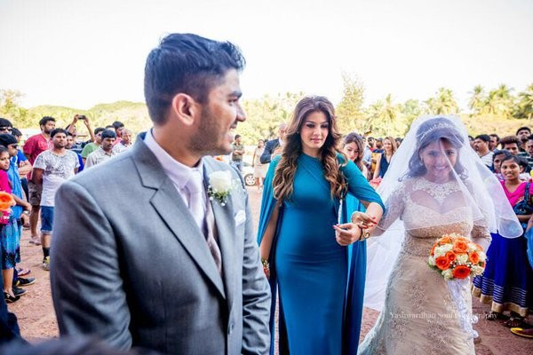 Raveen Tandon's daughter Chhaya ties the knot in Goa